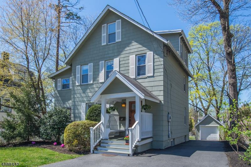 Частный односемейный дом для того Продажа на 39 FOREST Avenue Caldwell, Нью-Джерси 07006 Соединенные Штаты