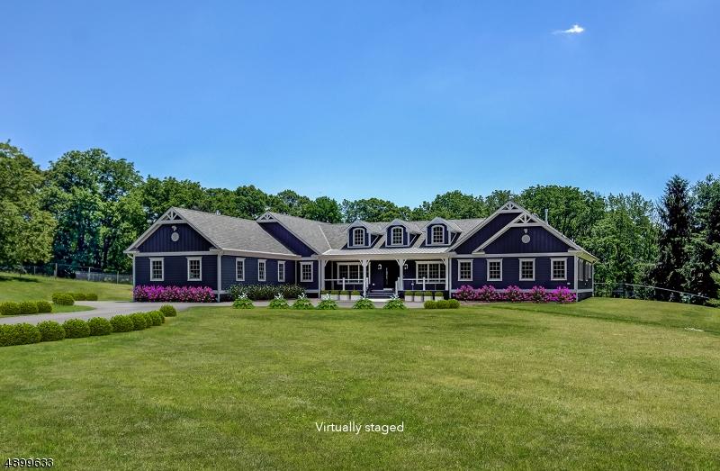 Single Family Homes pour l Vente à Harding Township, New Jersey 07920 États-Unis