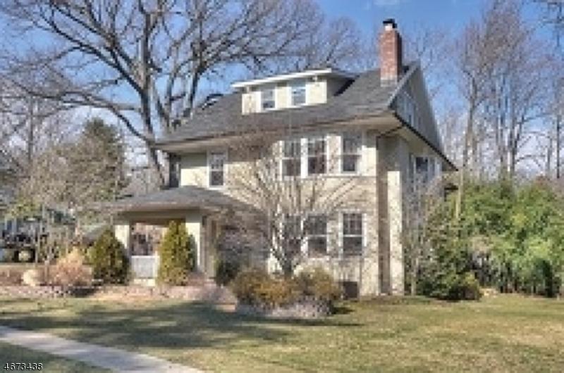 Частный односемейный дом для того Продажа на 27 Roosevelt Road Maplewood, 07040 Соединенные Штаты