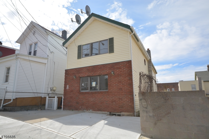 Single Family Home for Rent at 8 Wickham Street Passaic, New Jersey 07055 United States