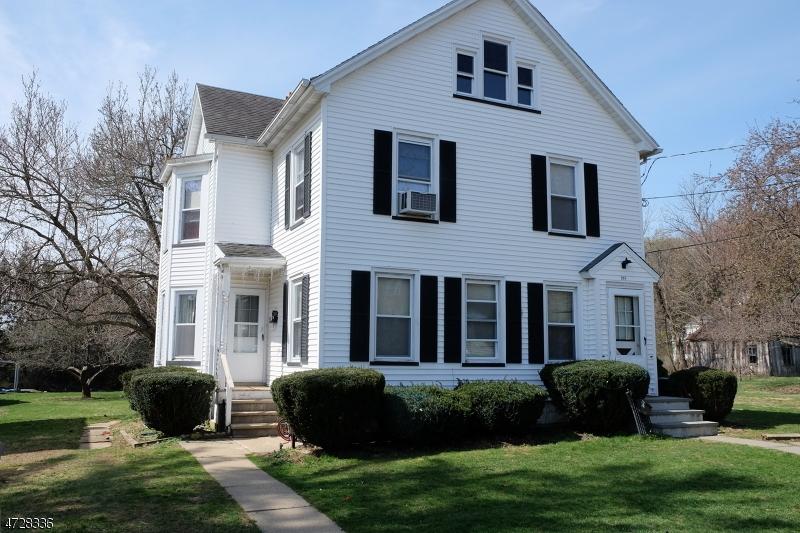 Многосемейный дом для того Продажа на 208 Vail Street Hackettstown, Нью-Джерси 07840 Соединенные Штаты