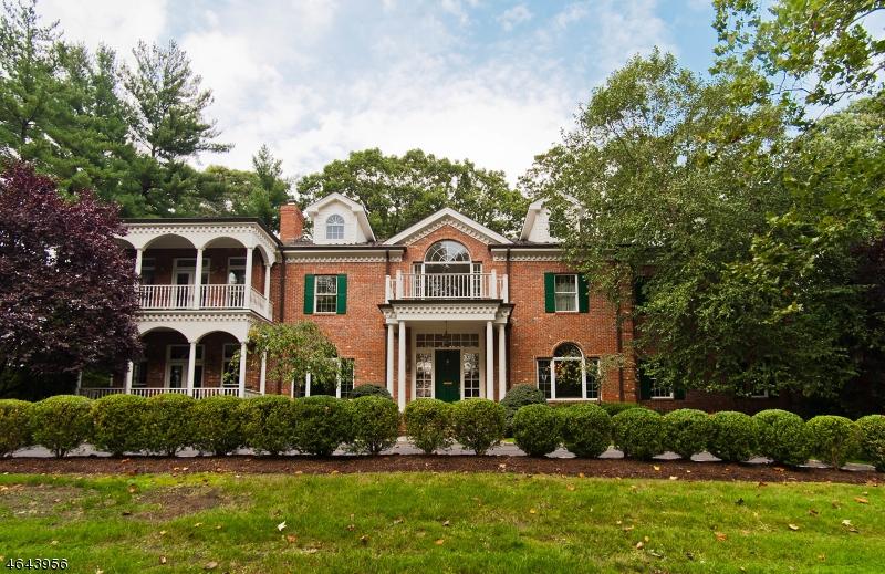 Частный односемейный дом для того Аренда на 95 Minnisink Road Short Hills, Нью-Джерси 07078 Соединенные Штаты