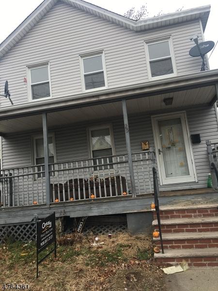 Частный односемейный дом для того Аренда на 25 Orchard Street Elizabeth, Нью-Джерси 07208 Соединенные Штаты