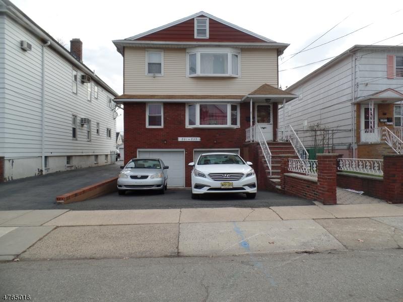 Vivienda multifamiliar por un Venta en 821-PT ADAMS Avenue Elizabeth, Nueva Jersey 07201 Estados Unidos