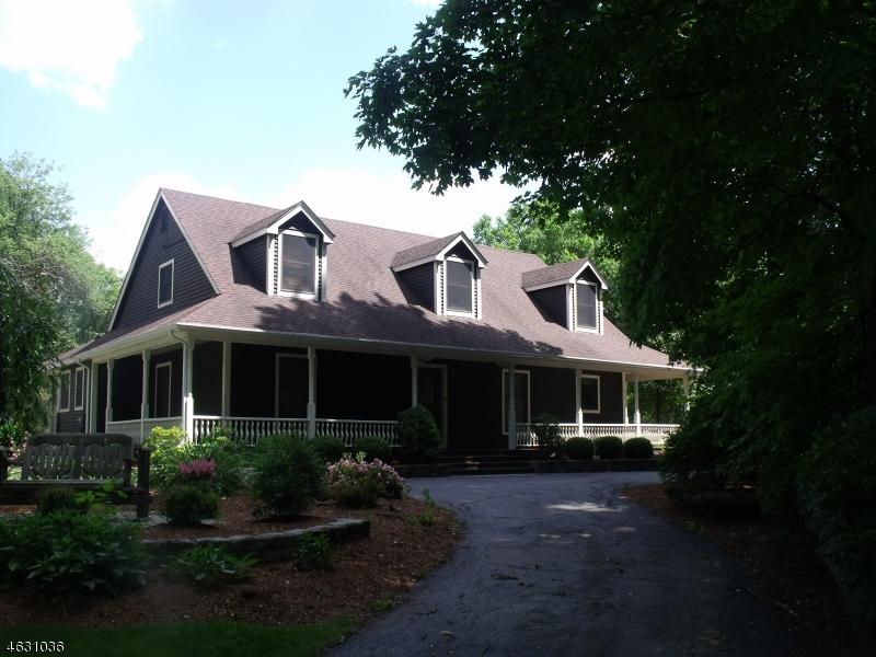 Maison unifamiliale pour l Vente à 1 Heaters Lane Layton, New Jersey 07851 États-Unis