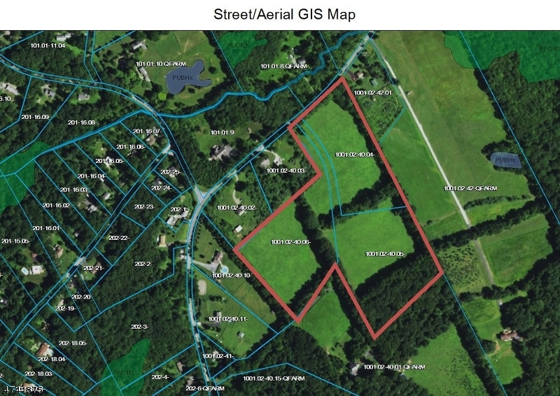 Land for Sale at -ABC Mount Bethel Road Mansfield, New Jersey 07863 United States