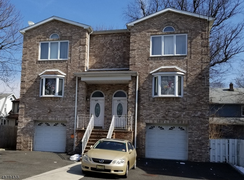 Single Family Home for Rent at 447 E 24TH Street Paterson, New Jersey 07514 United States