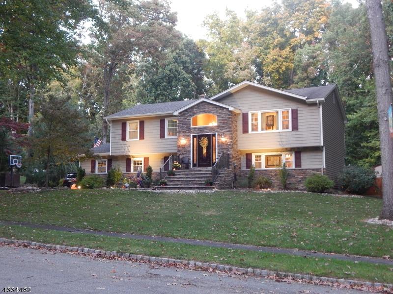Частный односемейный дом для того Продажа на 7 Cornell Drive Succasunna, 07876 Соединенные Штаты