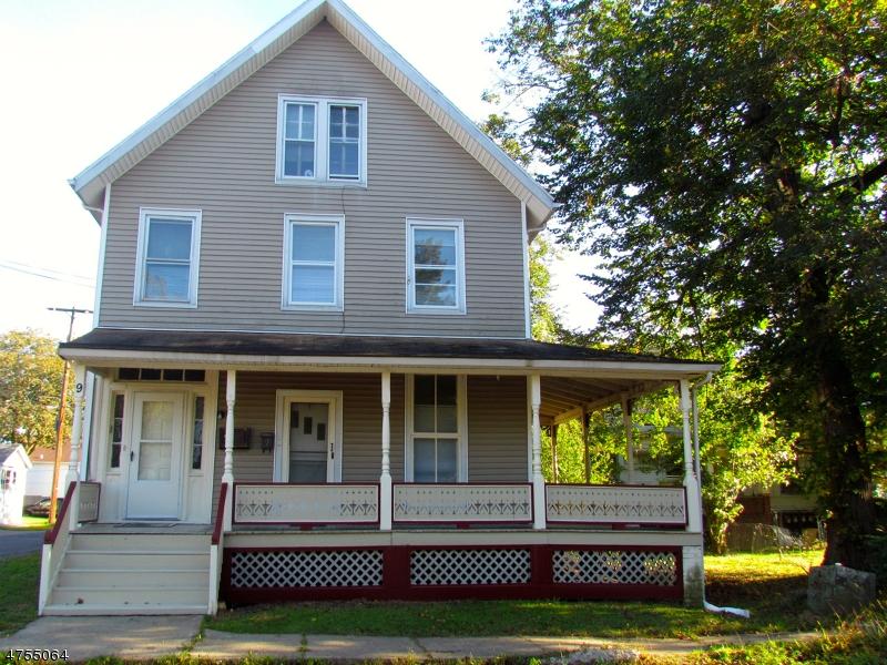 Casa Multifamiliar por un Venta en 9 E Johnston Street Washington, Nueva Jersey 07882 Estados Unidos
