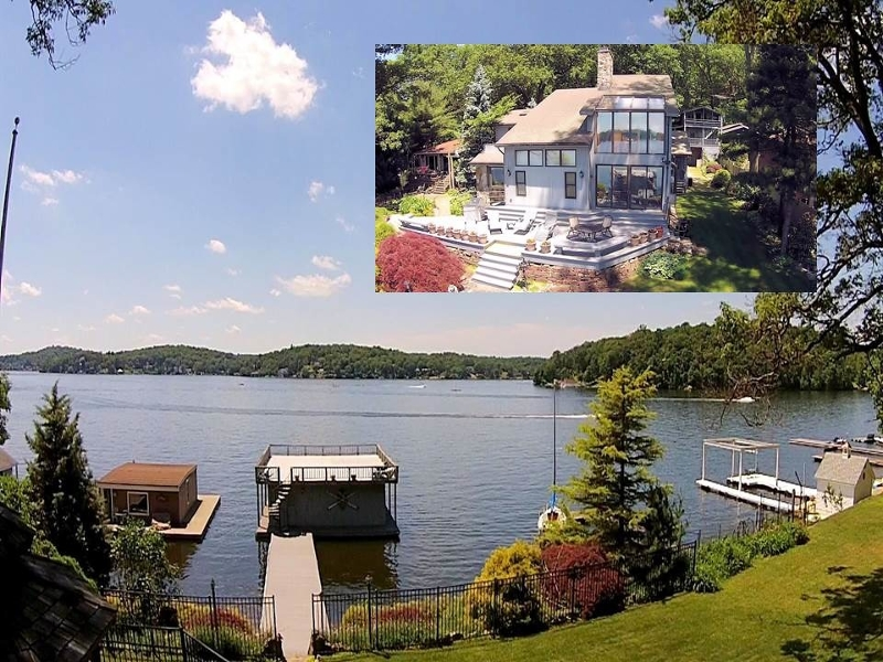 Maison unifamiliale pour l Vente à 79 CASTLE ROCK Road Lake Hopatcong, New Jersey 07849 États-Unis