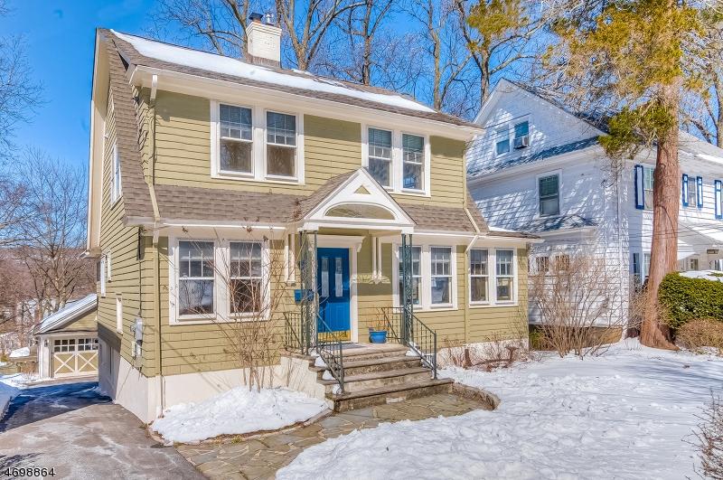 Частный односемейный дом для того Продажа на 33 North Ter Maplewood, 07040 Соединенные Штаты