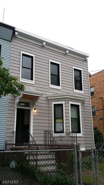 Частный односемейный дом для того Продажа на 245 Virginia Avenue Jersey City, Нью-Джерси 07304 Соединенные Штаты