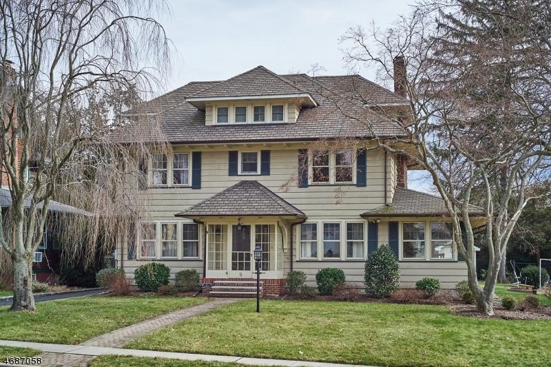 Частный односемейный дом для того Продажа на 4 Hamilton Avenue Cranford, 07016 Соединенные Штаты