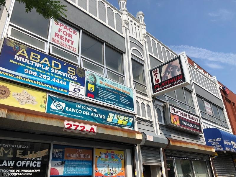 Коммерческий для того Аренда на 270 N BROAD Street Elizabeth, Нью-Джерси 07208 Соединенные Штаты