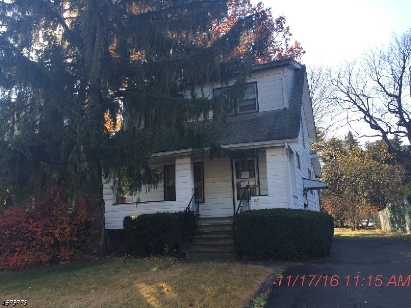 Single Family Home for Sale at 87 Ross Avenue Hackensack, 07601 United States