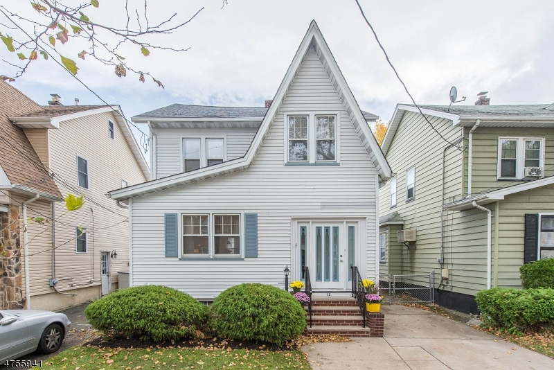 Single Family Home for Sale at 72 Beech Street North Arlington, New Jersey 07031 United States