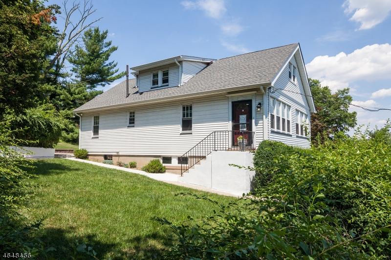 Частный односемейный дом для того Продажа на 491 Mount Pleasant Avenue West Orange, Нью-Джерси 07052 Соединенные Штаты