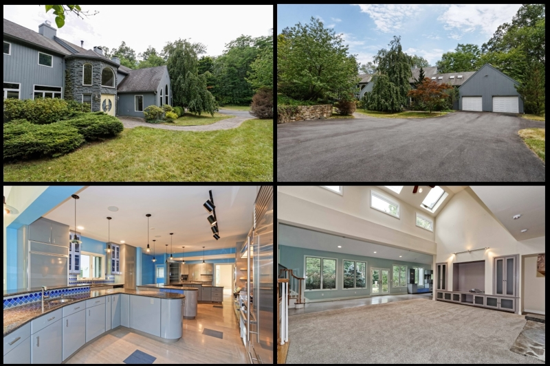 Maison unifamiliale pour l Vente à 31 N Four Bridges Road Long Valley, New Jersey 07853 États-Unis