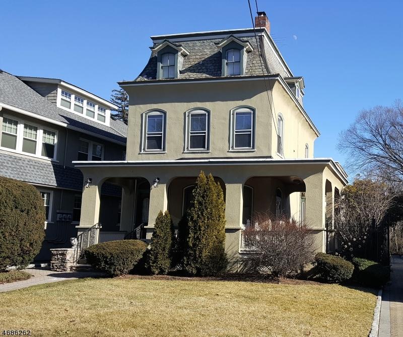 Casa Unifamiliar por un Alquiler en 265 PARK Street Montclair, Nueva Jersey 07043 Estados Unidos