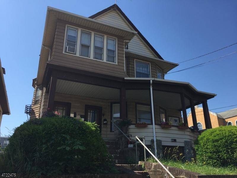 Многосемейный дом для того Продажа на 203-205 PRESIDENT Street Passaic, 07055 Соединенные Штаты