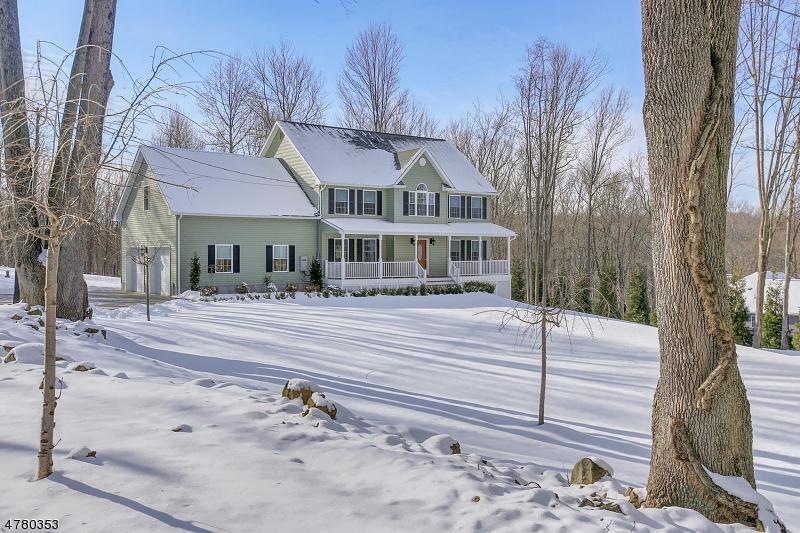 独户住宅 为 销售 在 307 Turkey Top Road 莱巴嫩, 新泽西州 07865 美国
