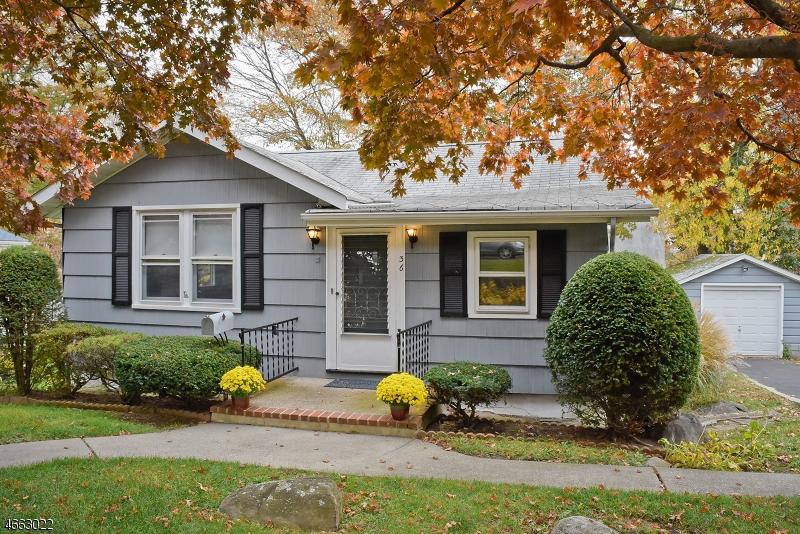 Частный односемейный дом для того Продажа на 36 Dacotah Avenue Lake Hiawatha, 07034 Соединенные Штаты
