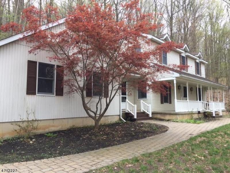 Частный односемейный дом для того Продажа на 125 Quenby Mountain Road Great Meadows, Нью-Джерси 07838 Соединенные Штаты