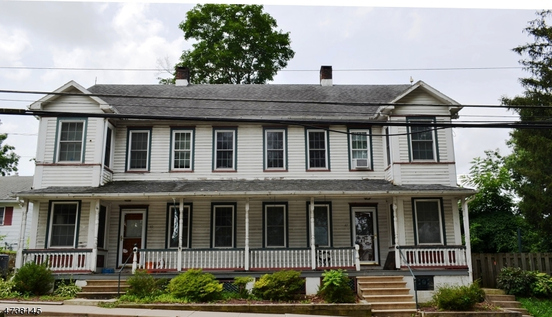 Multi-Family Home for Sale at 47-49 CHURCH Street 47-49 CHURCH Street Bloomsbury, New Jersey 08804 United States