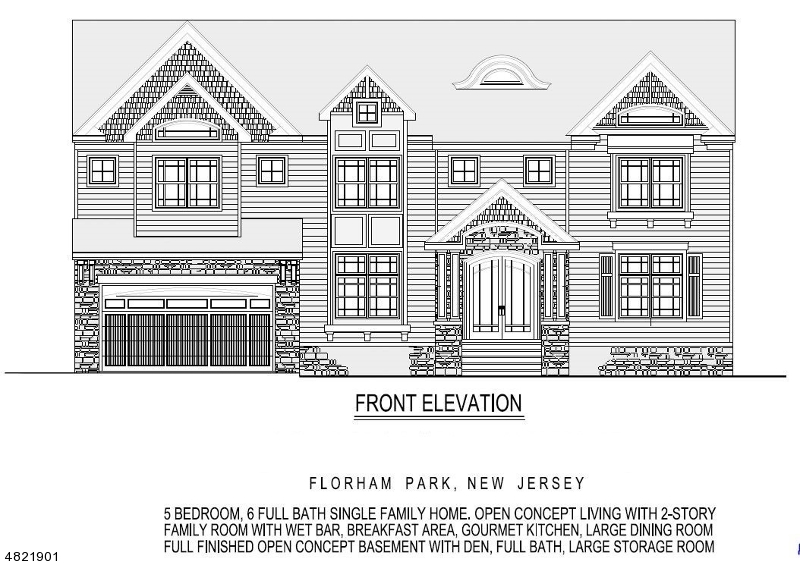 Maison unifamiliale pour l Vente à 13 LESLIE Avenue Florham Park, New Jersey 07932 États-Unis