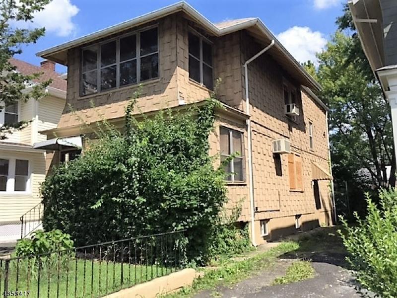 Casa Multifamiliar por un Venta en 116 Summit Street East Orange, Nueva Jersey 07017 Estados Unidos