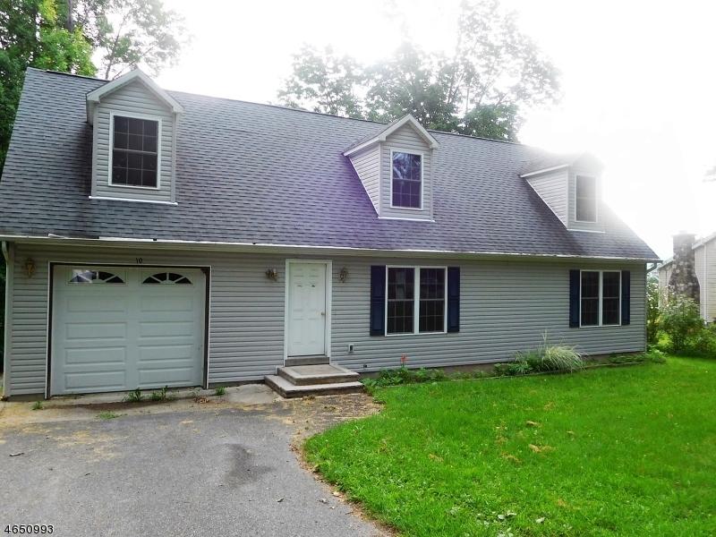 Частный односемейный дом для того Продажа на 10 Fox Ledge Drive Glenwood, 07418 Соединенные Штаты