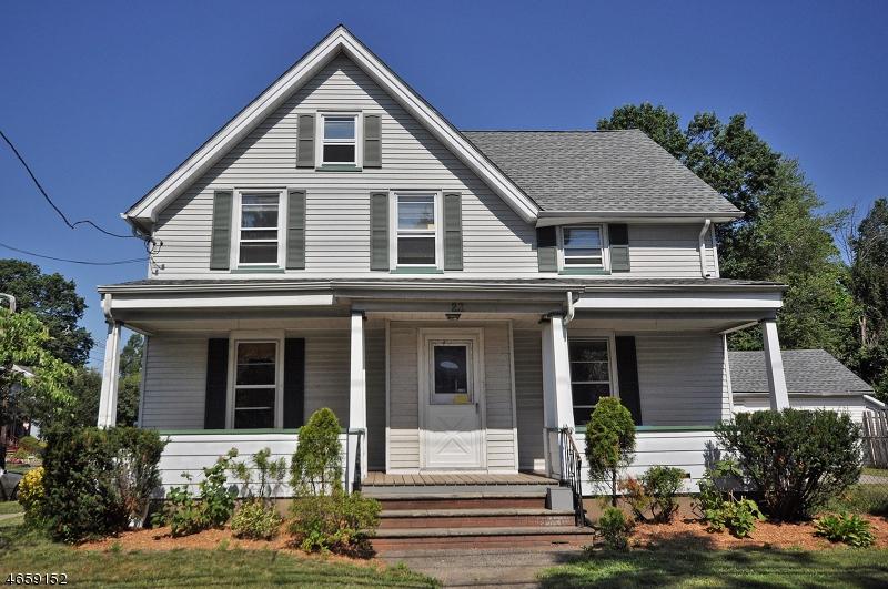 Casa Unifamiliar por un Alquiler en 23 Center Avenue Little Falls, Nueva Jersey 07424 Estados Unidos