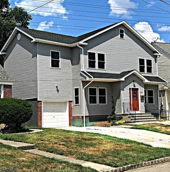 Частный односемейный дом для того Продажа на 199 BREMOND Street Belleville, Нью-Джерси 07109 Соединенные Штаты