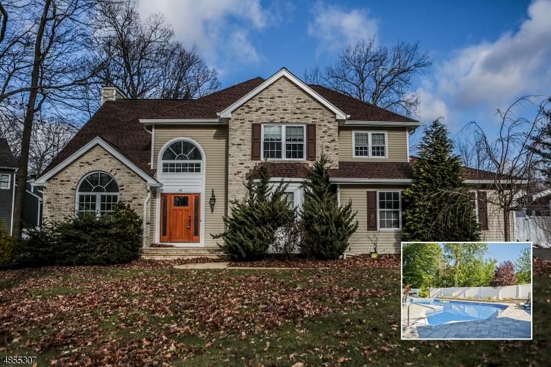 Maison unifamiliale pour l Vente à 42 LENOX Road Rockaway, New Jersey 07866 États-Unis