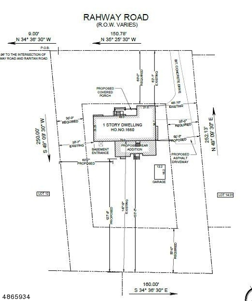 Land / Lots for Sale at 1660 RAHWAY RD 1660 RAHWAY RD Scotch Plains, New Jersey 07076 United States