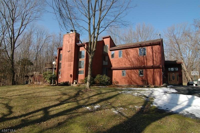 Частный односемейный дом для того Продажа на 56 GOLDEN CHAIN Road Frelinghuysen Township, Нью-Джерси 07825 Соединенные Штаты