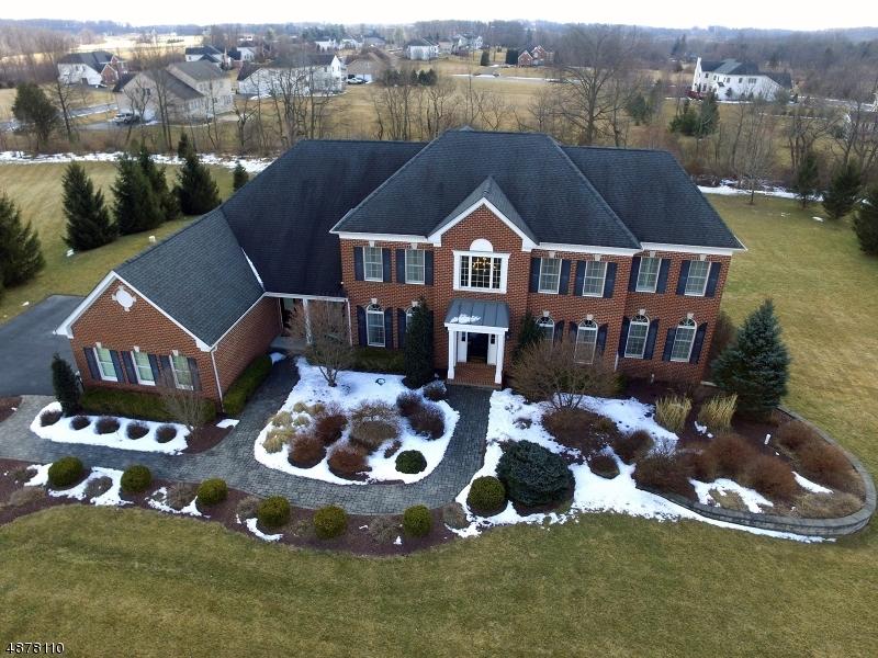 Maison unifamiliale pour l Vente à 4 WOODLINE WAY Pittstown, New Jersey 08867 États-Unis