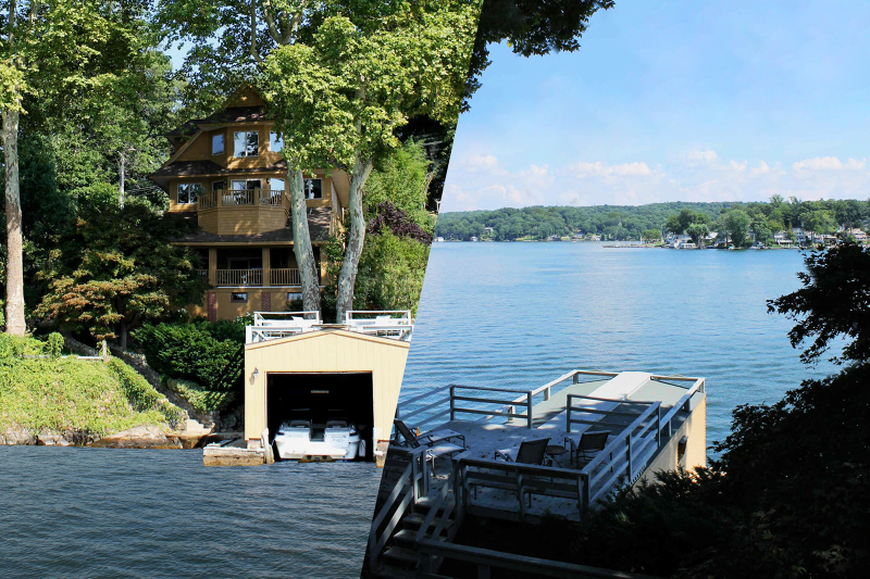 Single Family Home for Sale at 221 Lakeside Blvd Hopatcong, New Jersey 07843 United States