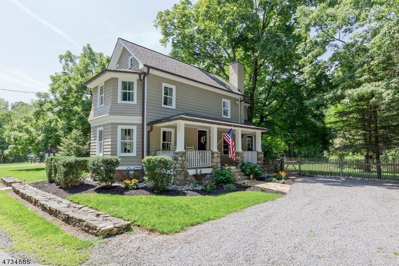Частный односемейный дом для того Продажа на 1851 Black River Road Bedminster, Нью-Джерси 07921 Соединенные Штаты