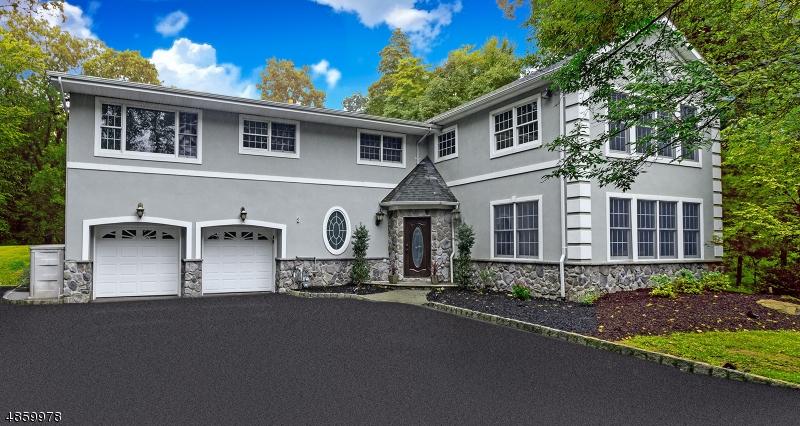 Maison unifamiliale pour l Vente à 43 HILLCREST Road Bridgewater, New Jersey 08836 États-Unis