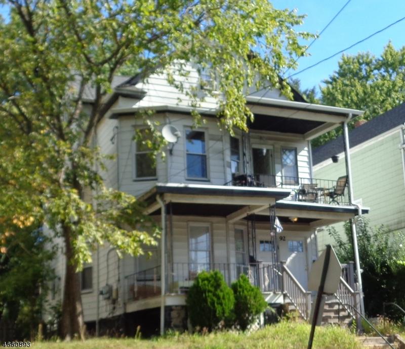 Частный односемейный дом для того Аренда на Address Not Available Passaic, 07055 Соединенные Штаты