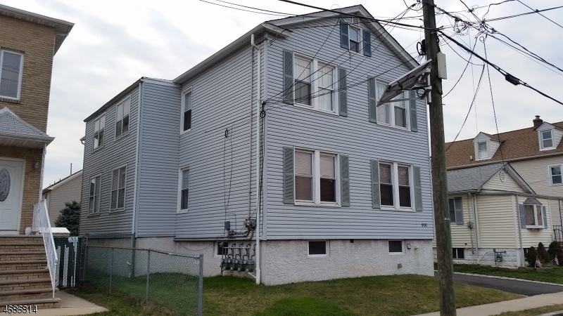 Multi-Family Home for Sale at 916 Bacheller Avenue Linden, 07036 United States