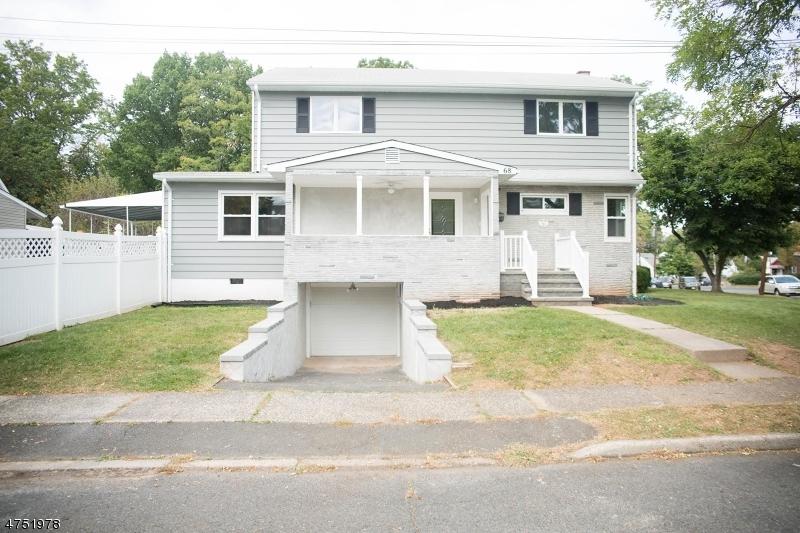 Частный односемейный дом для того Продажа на 68 Pallant Avenue Linden, Нью-Джерси 07036 Соединенные Штаты