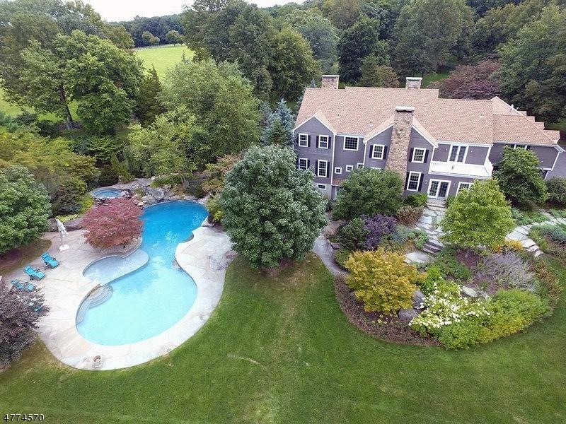 Maison unifamiliale pour l Vente à 4 Alder Creek Drive Tewksbury Township, New Jersey 07830 États-Unis