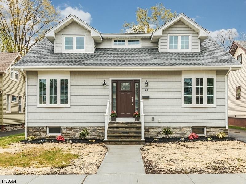 独户住宅 为 销售 在 18 Adams Avenue 克兰弗德, 07016 美国