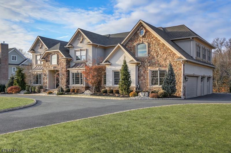 Maison unifamiliale pour l Vente à 5 ARLINGTON COURT Warren, New Jersey 07059 États-Unis