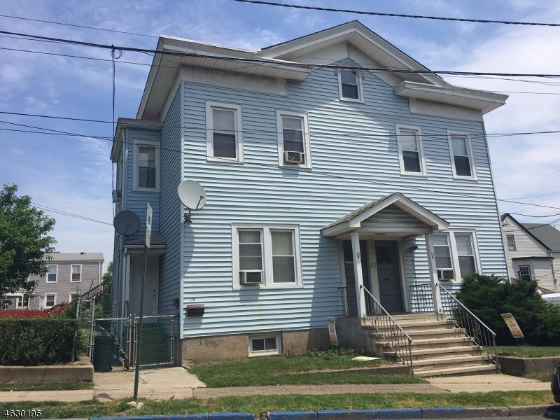 Многосемейный дом для того Продажа на 12 Planten Avenue Haledon, Нью-Джерси 07508 Соединенные Штаты