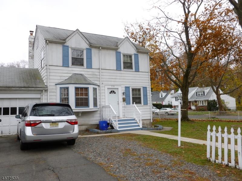 Частный односемейный дом для того Продажа на 576 BLOOMFIELD Avenue Nutley, 07110 Соединенные Штаты