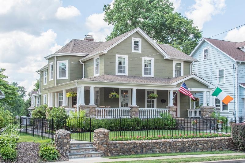 Maison unifamiliale pour l Vente à 91 CENTRAL Avenue Caldwell, New Jersey 07006 États-Unis