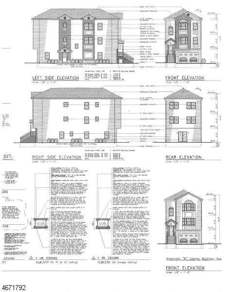 Multi-Family Home for Sale at 506-508 MADISON Avenue Elizabeth, 07201 United States